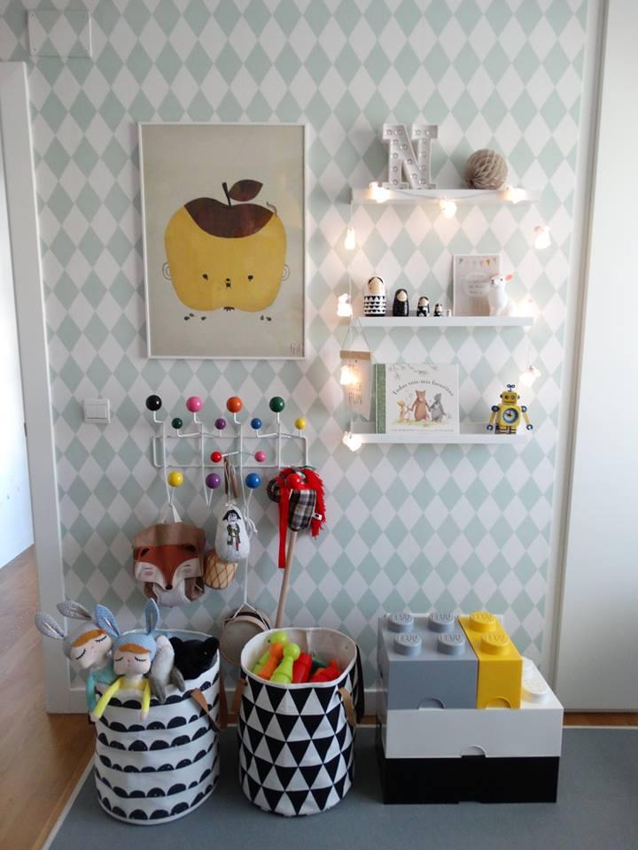 habitación infantil estilo nórdico