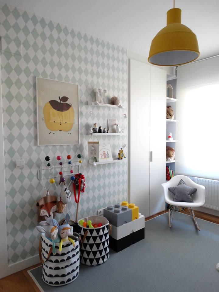 Una actual habitaci n infantil con aire n rdico que marca for Habitacion infantil estilo nordico