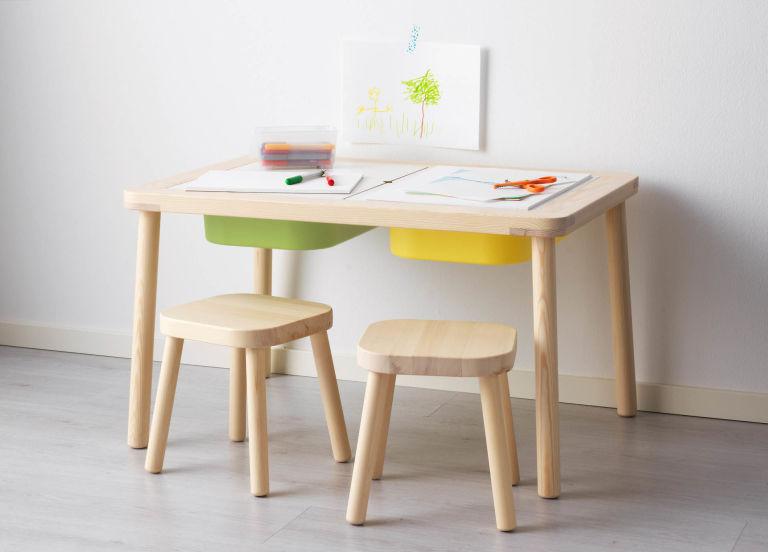 flisat la nueva colecci n de muebles para dormitorio infantil de ikea the little club. Black Bedroom Furniture Sets. Home Design Ideas