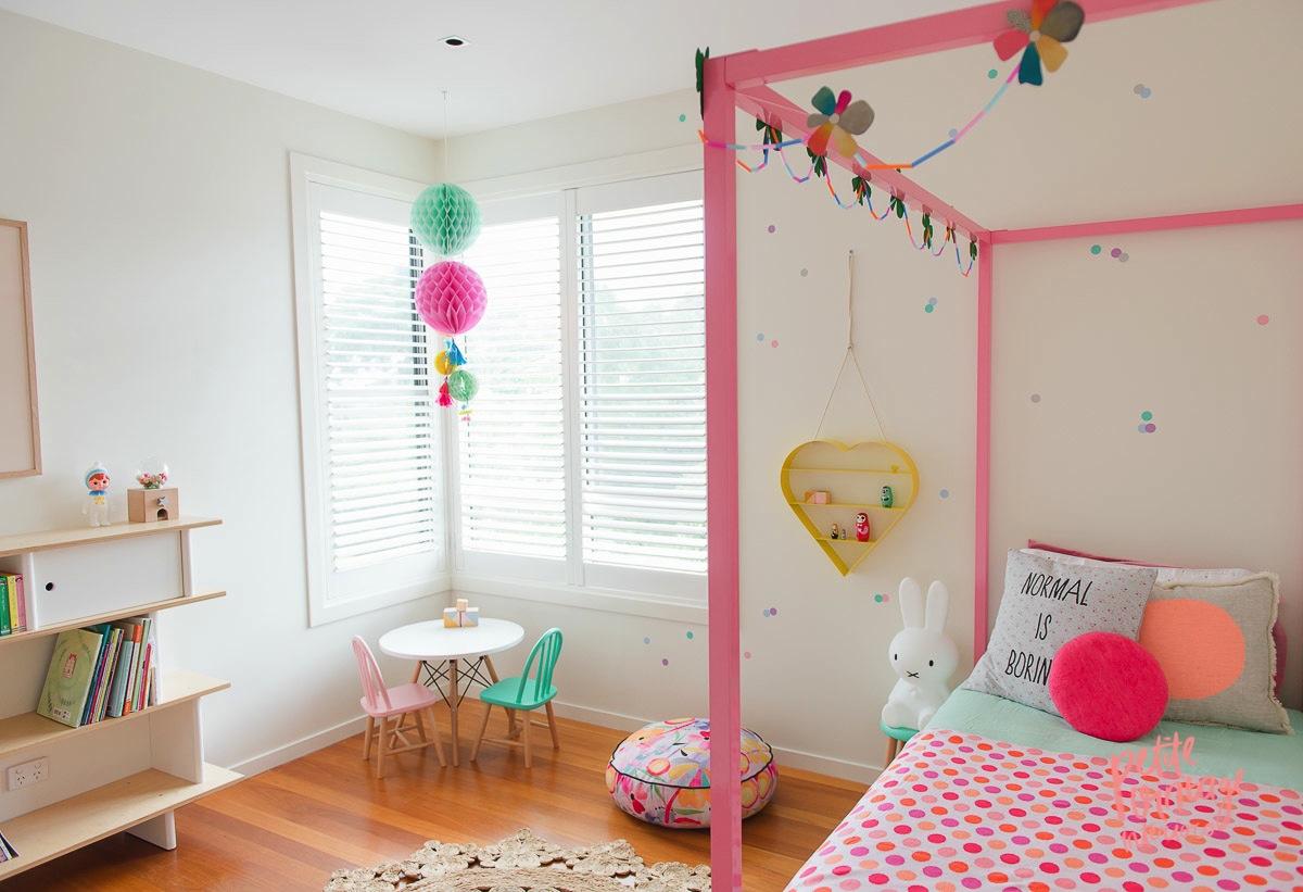 ideas decoración dormitorios niñas