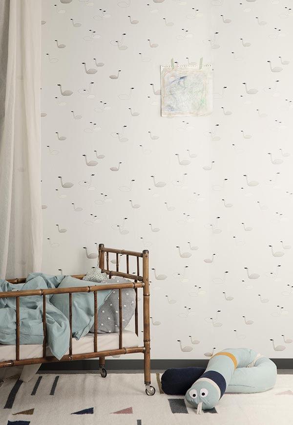 papel-de-pared-swan-gris-ferm-living